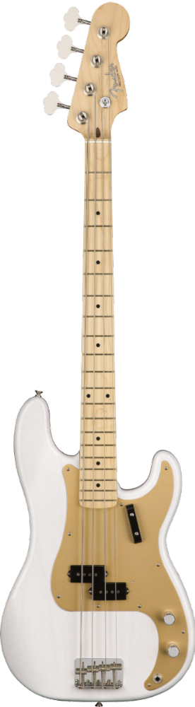 Fender American Original '50s Precision Bass Maple Fingerboard White Blonde